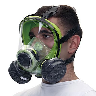 maschera per uso di fitofarmaci