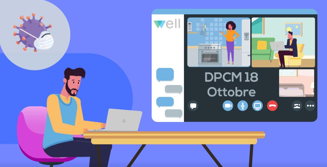 Well Consulenza Formazione Supporto DPCM 18 ottobre