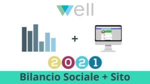 bilancio sociale 2021 sito web offerta Well Cagliari
