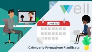 Calendario corsi formazione 2021 Well Cagliari